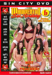 "Just Added presents the adult entertainment movie ""Whoriental Sex Academy 6""."