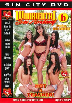 "Adult entertainment movie ""Whoriental Sex Academy 6"" starring Lucy Lee, Kitty & Charmane Star. Produced by Sin City."