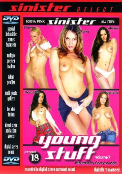 "Adult entertainment movie ""Young Stuff 7"" starring Petra, Alexia Riley & Gabriella Banks. Produced by Sin City."