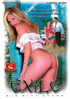"Adult entertainment movie ""Exile"" starring Brittney Skye, Felicia Fox & Aurora Snow. Produced by Sin City."
