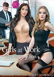 Straight Adult Movie Girls At Work: Clea The New Boss