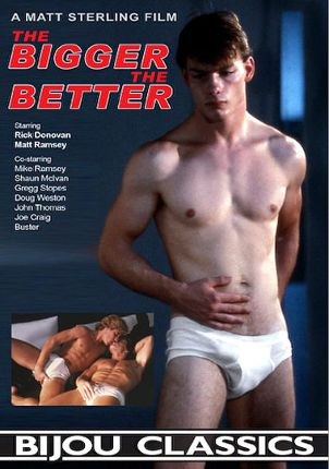 Gay Adult Movie The Bigger The Better