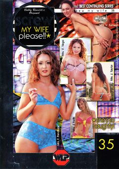 "Adult entertainment movie ""Screw My Wife Please 35"" starring Julie Faith, Yasmine Vega & Victoria Sin. Produced by Wildlife Productions."