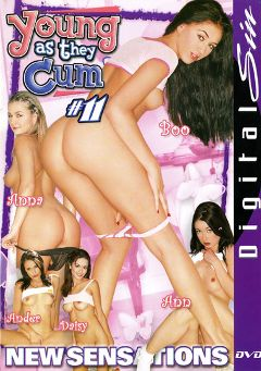 "Adult entertainment movie ""Young As They Cum 11"" starring Ann Harlow, Daisy Marie & Ander Page. Produced by Digital Sin."