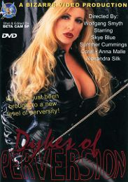 "Just Added presents the adult entertainment movie ""Dykes Of Perversion""."