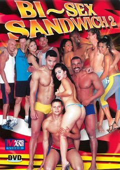 "Adult entertainment movie ""Bi-Sex Sandwich 2"". Produced by Macho Man Video."