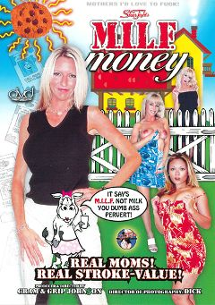 "Adult entertainment movie ""M.I.L.F. Money"" starring Emma Starr, Tara Moon & Kimmy Kahn. Produced by Legend."