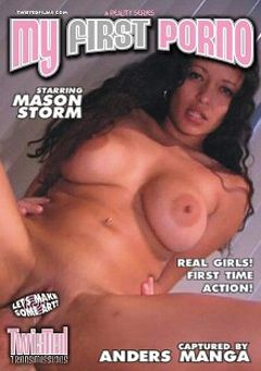 "Adult entertainment movie ""My First Porno:  Mason"" starring Mason Storm. Produced by Twisted Transmissions."