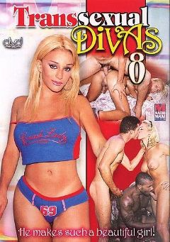 "Adult entertainment movie ""Transsexual Divas 8"". Produced by Macho Man Video."
