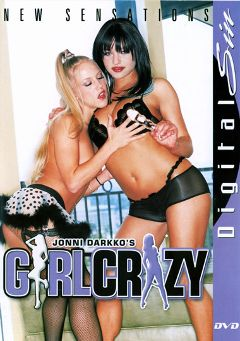 "Adult entertainment movie ""Girl Crazy"" starring Julie Night, Belladonna & Ashley Blue. Produced by Digital Sin."
