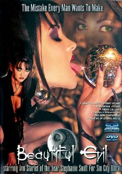 "Adult entertainment movie ""Beautiful Evil"" starring Toni James, Stephanie Swift & Missy *. Produced by Sin City."
