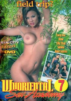 "Adult entertainment movie ""Whoriental Sex Academy 7"" starring Lily Thai, Lucy Lee & Asia Carrera. Produced by Sin City."
