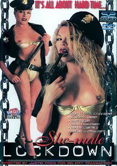 "Adult entertainment movie ""Shemale Lockdown"". Produced by Sin City."