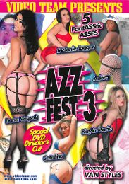 "Editors' Choice presents the adult entertainment movie ""Azz Fest 3""."