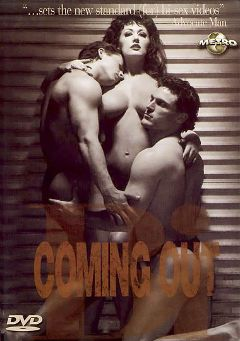 "Adult entertainment movie ""Coming Out Bi"" starring Letha Weapons, Sharon Kane & Dominique Simone. Produced by Metro Media Entertainment."