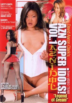 "Adult entertainment movie ""AZN Super Idols:  Legend Of Cream"" starring Annie Cruz, Luci Thai & Kylie Rey. Produced by Video Team."