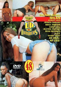 "Adult entertainment movie ""Up And Cummers 48"" starring Ashley Jaye, Milan (f) & Allysin Chaynes. Produced by New Machine."