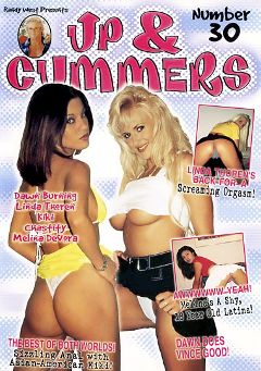 "Adult entertainment movie ""Up And Cummers 30"" starring Melina, Chastity & Linda Thoren. Produced by New Machine."