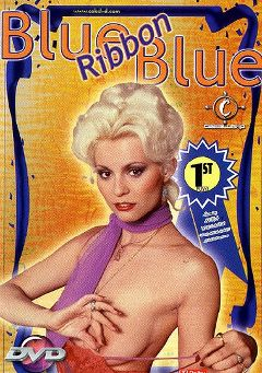 "Adult entertainment movie ""Blue Ribbon Blue"" starring Seka, Tami Thomas & Sean Sullivan. Produced by Caballero Video."