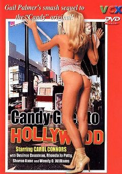 "Adult entertainment movie ""Candy Goes To Hollywood"" starring Carol Connors, Rocky Briggs & David Pinney. Produced by VCX Home Of The Classics."