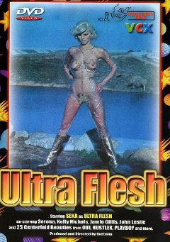 "Adult entertainment movie ""Ultra Flesh"" starring Seka, Sergei Novotny & Sanyen Sunny. Produced by VCX Home Of The Classics."