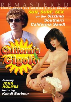 "Adult entertainment movie ""California Gigolo"" starring Kandi Barbour, Delania Raffino & Veri Knotty. Produced by VCX Home Of The Classics."