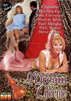 "Adult entertainment movie ""Karen Dior's I Dream Of Queenie"" starring Christy McNickol, Heather Fox & Steve Spain. Produced by Metro Media Entertainment."