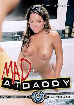 "Adult entertainment movie ""Mad At Daddy"" starring Sophia, Francesca Sins & Larissa Flynn. Produced by Vertigo."