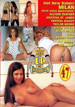 "Adult entertainment movie ""Up And Cummers 47"" starring Milan (II), Allysin Chaynes & Crystal Knight. Produced by New Machine."