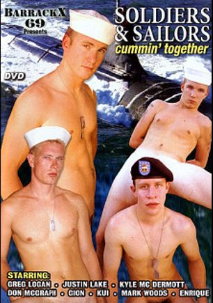 Soldiers And Sailors Cummin' Together, starring kyle mcdermo and Mark Wood, produced by In X Cess.