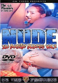 "Adult entertainment movie ""Nude In Public Places 2"". Produced by GM Video."