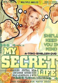 "Adult entertainment movie ""My Secret Life"" starring Jenteal, Jon Dough & Sindee Coxx. Produced by Vivid Entertainment."