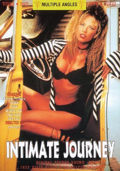 "Adult entertainment movie ""Intimate Journey"" starring Racquel Darrian, Tara Collins & Leena La Bianca. Produced by Vivid Entertainment."
