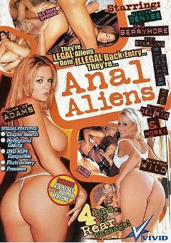 "Adult entertainment movie ""Anal Aliens"" starring Nina, Dora Venter & Betty Love. Produced by Vivid Entertainment."