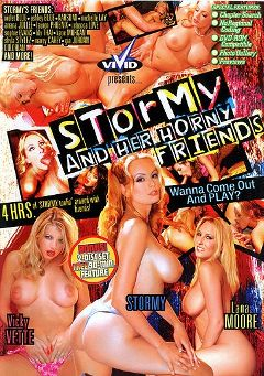 "Adult entertainment movie ""Stormy And Her Horny Friends"" starring Lana Moore, Vicky Vette & Stormy Daniels. Produced by Vivid Entertainment."