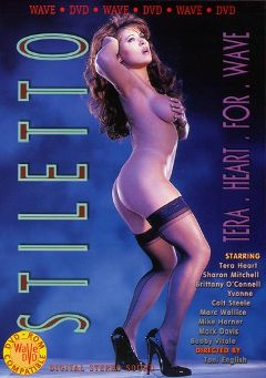 "Adult entertainment movie ""Stiletto"" starring Tera Heart, Marc Wallice & Bobby Vitale. Produced by Wave DVD."