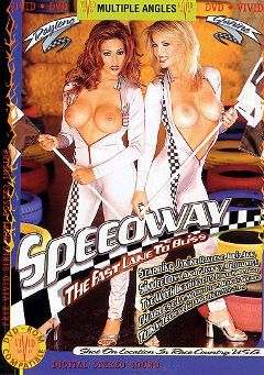 "Adult entertainment movie ""Speedway"" starring Janine Lindemuller, Raylene & Tye. Produced by Vivid Entertainment."