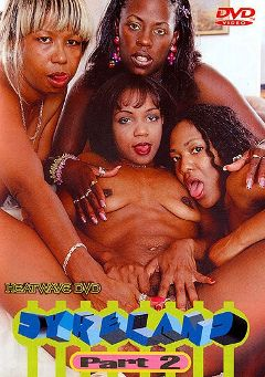 "Adult entertainment movie ""Dykeland 2"" starring Belinda, Diamond & Pebbles. Produced by Heatwave Entertainment."