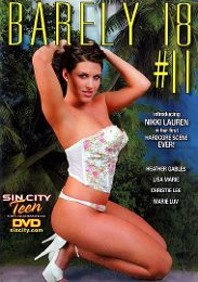 """Featured Series - Barely 18 presents the adult entertainment movie """"Barely 18: 11""""."""