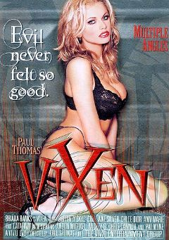 "Adult entertainment movie ""Vixen"" starring Briana Banks, Anton Michael & Mickey G.. Produced by Vivid Entertainment."