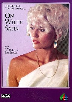 "Adult entertainment movie ""On White Satin"" starring Seka, Cecelia Wilson & Spender Travis. Produced by VCX Home Of The Classics."