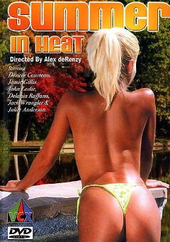 "Adult entertainment movie ""Summer In Heat"" starring Juliet Anderson, Stanley Cohen & Ron Meyers. Produced by VCX Home Of The Classics."