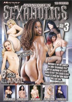 "Adult entertainment movie ""Monique's Sexaholics   3"" starring Daphne Rosen, Jasmine Lynn & Caramel. Produced by Heatwave Entertainment."