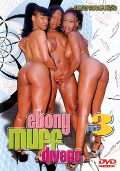 "Adult entertainment movie ""Ebony Muff Divers 3"" starring Adina Jewel, Mercury Orbitz & Caramel. Produced by Heatwave Entertainment."