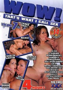"Adult entertainment movie ""Wow  That's What I Call Sex   7"" starring Leanna Heart, Sky Taylor & Maria. Produced by Metro Media Entertainment."