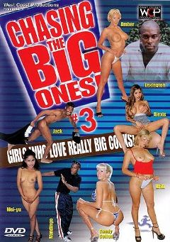 "Adult entertainment movie ""Chasing The Big Ones   3"" starring Amber, Billie Britt & Mei Yu. Produced by West Coast Productions."