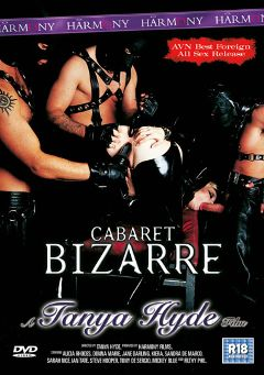 "Adult entertainment movie ""Cabaret Bizarre"" starring Sandra De Marco, Alicia Rhodes & Jane Darling. Produced by Harmony Films Ltd.."
