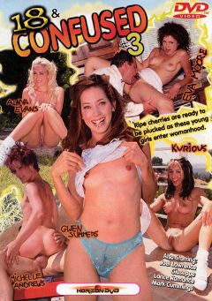 "Adult entertainment movie ""18 And Confused 3"" starring Kurious, Joel Lawrence & Michelle Andrews. Produced by Horizon."
