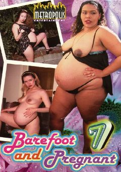 "Adult entertainment movie ""Barefoot And Pregnant 7"" starring Ina Parish, Holly & Melinda. Produced by Metropolis."
