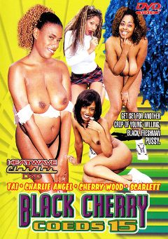 "Adult entertainment movie ""Black Cherry Coeds 15"" starring Tai, Scarlett & Cherry Wood. Produced by Heatwave Classics."